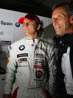 Alex Zanardi, BMW Team Italy-Spain and Roberto Ravaglia, Team Manager, BMW Team Italy-Spain / ROAL Motorsport
