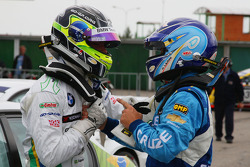Augusto Farfus, BMW Team Germany and Nicola Larini, Chevrolet
