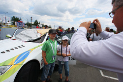 Young fans of Augusto Farfus, BMW Team Germany