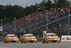 Gabriele Tarquini, Seat Sport, Seat Leon 2.0 TDI, Felipe Massa, Scuderia Ferrari, Yvan Muller, Seat Sport, Seat Leon 2.0 TDI