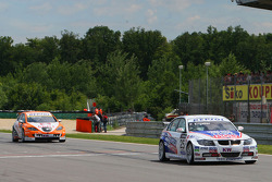 Franz Engstler, Liqui Moly Team Engstler, BMW 320si and Tim Coronel, Sunred Engineering, Seat Leon 2.0