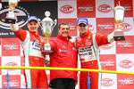 GT2 podium: class winners Toni Vilander and Gianmaria Bruni