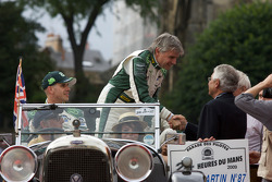 Marino Franchitti, Paul Drayson and Jonny Cocker