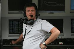 Axel Randolph, HWA Mercedes, race engeneer