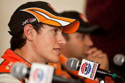 Post-race press conference: race winner Joey Logano, Joe Gibbs Racing Toyota
