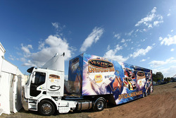V8 Supercar merchandise transporter