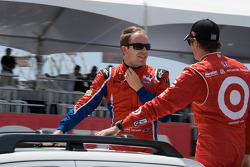 Robert Doornbos, Newman/Haas/Lanigan Racing, Scott Dixon, Target Chip Ganassi Racing
