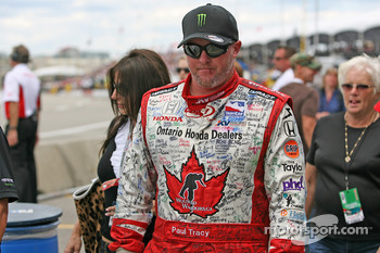 Paul Tracy, KV Racing Technology after the race