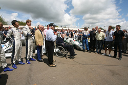 40 Years of Frank Williams in F1 Celebration in Collecting Area