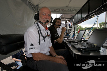 Porsche racing engineer Roland Kussmaul