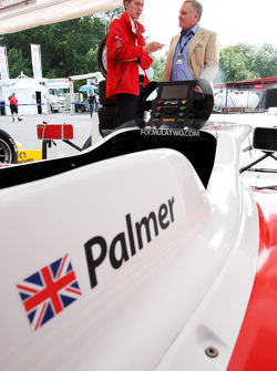 Sam Tremayne, Motorsport Vision, talks to Patrick Head, Formula Two Car Designer