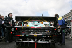 Back of Vitaphone Racing Team Maserati MC12