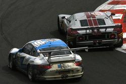 #40 Marc VDS Racing Team Ford GT: Eric de Doncker, Bas Leinders, Renaud Kuppens; #145 Christian Kelders First Motorsport Porsche 911 GT3 Cup S: Christian Kelders, Philippe Greisch, Daniel Desbrueres, Eric Hélary