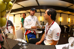 Bruno Senna and Miguel Ramos