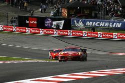 #77 BMS Scuderia Italia Ferrari F430: Matteo Malucelli, Paolo Ruberti, Kenneth Heyer, Diego Romanini