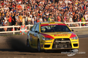 Jarkko Nikara and Jarkko Kalliolepo, Pirelli Star Driver Mitsubishi Evo X