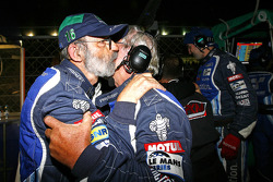 Henri Pescarolo celebrates win