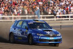 Patrick Flodin and Goran Bergsten, Subaru Impreza