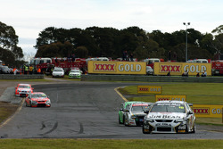 James Courtney back in second