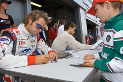 Autograph session: Andy Soucek