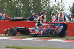 Jaime Alguersuari, Scuderia Toro Rosso, Jenson Button, BrawnGP, Lewis Hamilton, McLaren Mercedes