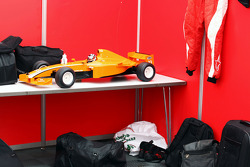 Model car of Philipp Eng Formula Two car