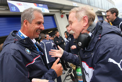 Friedhelm Nohl, BMW Motorsport and Dr. Klaus Draeger