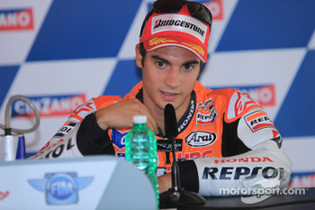 Press conference: third place Dani Pedrosa, Repsol Honda Team