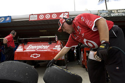 Earnhardt Ganassi Racing Chevrolet crew member at work