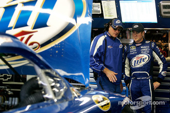 Kurt Busch, Penske Racing Dodge with crew chief Pat Tryson