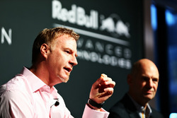 Marek Reichman, Chief Creative Officer and Design Director Aston Martin and Adrian Newey, the Chief Technical Officer Red Bull Racing