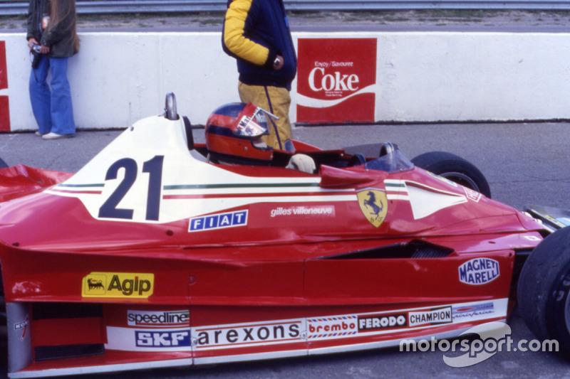 Erster Einsatz für Ferrari