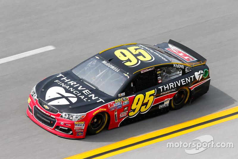 17. Michael McDowell, Circle Sport Leavine Family Racing, Chevrolet