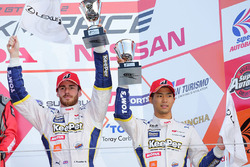 Podium GT500: third place James Rossiter, Ryo Hirakawa, Team Tom's