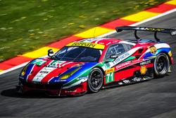 #71 AF Corse, Ferrari 488 GTE: Davide Rigon, Sam Bird