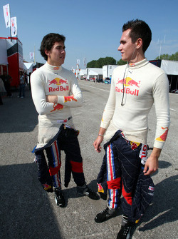 Robert Wickens and Mikhail Aleshin