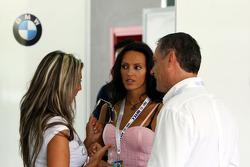 Ladies in the BMW garage