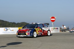 Daniel Sordo and Marc Marti, Citroen Total World Rally Team Citroen C4