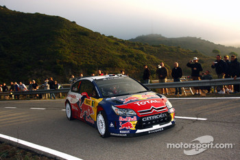 Sébastien Loeb and Daniel Elena, Citroen Total World Rally Team Citroen C4