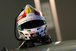 Helmet of Tom Kristensen, Audi Sport Team Abt Sportsline Audi A4 DTM