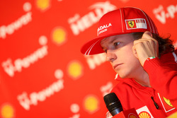 Shell press conference, Kimi Raikkonen, Scuderia Ferrari