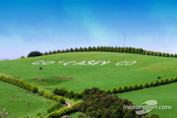 Australian fans show their dedication for Casey Stoner