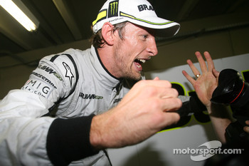 Jenson Button, BrawnGP wins the world championship