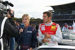 Timo Scheider, Audi Sport Team Abt Sportsline Audi A4 DTM gives interviews