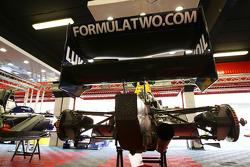 F2 rear suspension detail