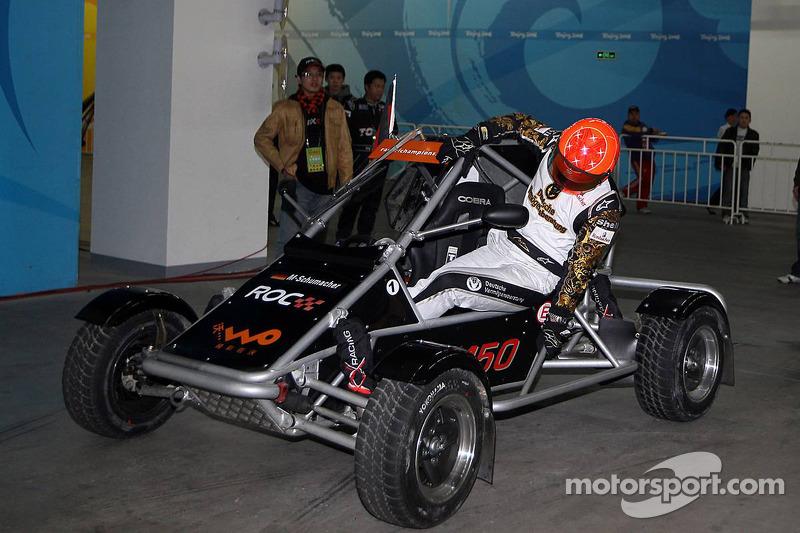 Group A, race 1: Michael Schumacher