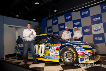 Press conference: Tums and MWR join together for 2010 NASCAR Sprint Cup Series