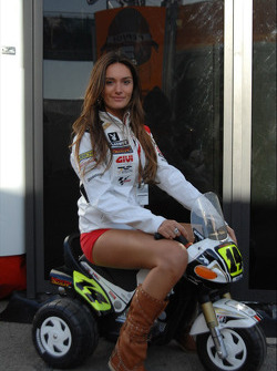 A lovely LCR Honda MotoGP Team girl