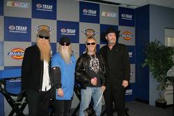 Billy Gibbons, Dusty Hill, Frank Beard & Eddie Gossage