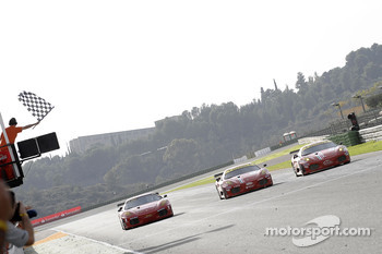GT: ALMS and FIA-GT Ferrari on track